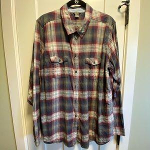 Eddie Bauer Packable Long-Sleeve Shirt ⭐️TALL⭐️